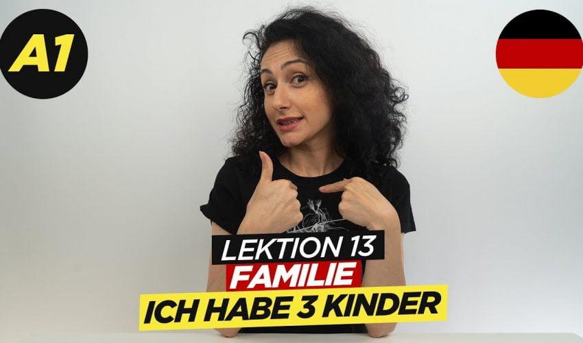 Meine Familie – Bruder, Schwester / A1 Deutschkurs