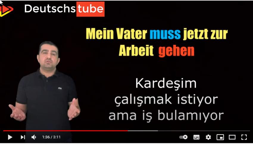 """Almanca'da Niteleme fiileri """"Modal Verben """""""