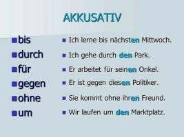 Almanca Akkusativ